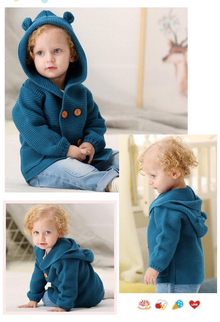 casaco camisola do bebê roupas da menina