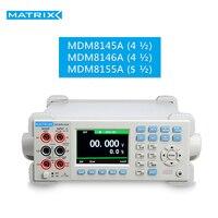 Multímetro digital benchtop alta precisão 4.5 5.5 dígitos com medição de capacitância MDM-8145A 8146a 8155a matriz