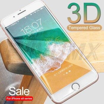 Перейти на Алиэкспресс и купить 3D закаленное стекло для iPhone 7, 8, 6, 6S Plus, 5, 5S, SE, защита от взрыва, Защитная пленка для iPhone 11 Pro XS Max XR X