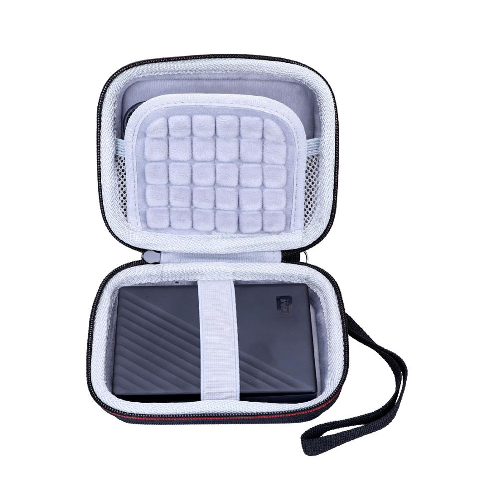 LTGEM EVA Hard Case for WD 1TB My Passport Portable External Hard Drive,Black-WDBYVG0010BBK-WESN