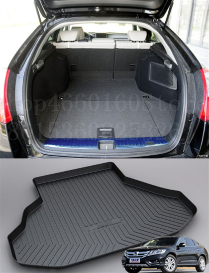 Puou Non-Slip Waterproof For Honda Crosstour 2011-18 Mat Rear Trunk Liner Cargo Floor Tray Carpet Guard Protector Car Accessorie