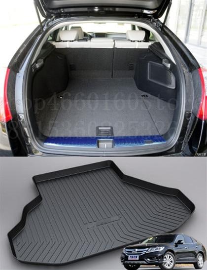 Puou Non-Slip Waterproof For Honda Crosstour 2011-18 Mat Rear Trunk Liner Cargo Floor Tray Carpet Guard Protector Car Accessorie