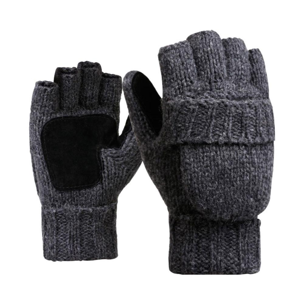 2pcs Women/Men  Half Finger Gloves Thermal Mittens Knitted Gloves Half Finger Flip Winter Warm  Gloves Thermal Glove 2019