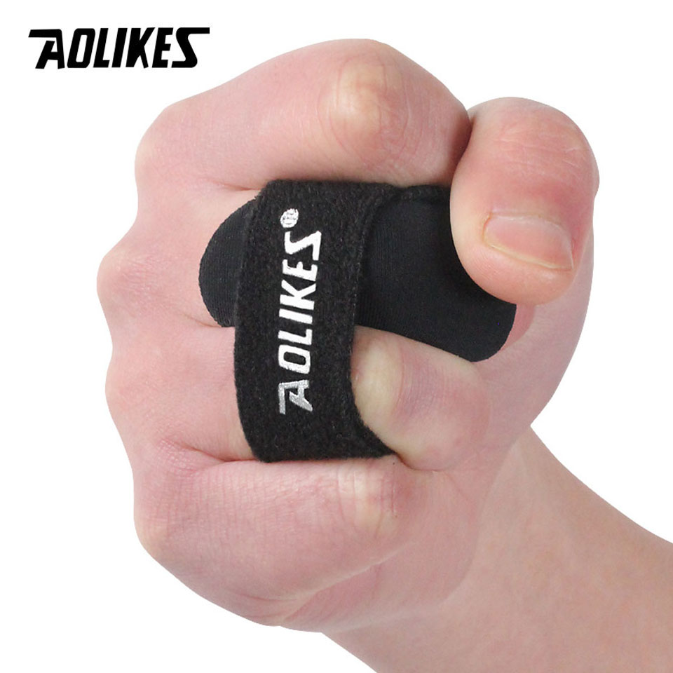 Sport Finger Arthrosis Band Protect Splint Guard Bands Finger Protector Guard Support Stretchy Sports Aid Band Basketball