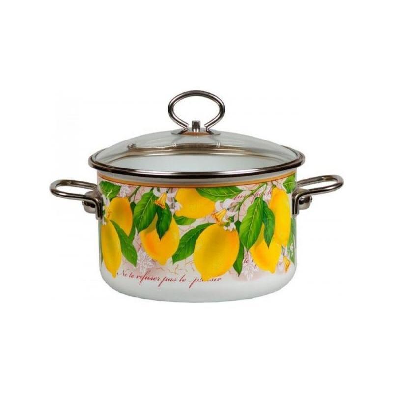 купить Pan VITROSS, Limon, 1,5 L, with glass cover дешево