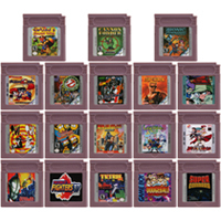 Video Game Cartridge Console Card 16 Bits Ninja Gaiden Shadow tTetris DX For Nintendo GBC English Version 1