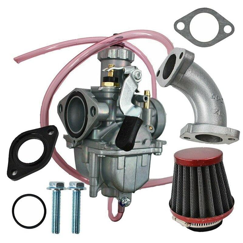 Vm22 26mm carburador tubo de entrada filtro ar para mikuni 110cc 125cc 140cc pit bicicleta da sujeira pitpro atv ssr motocicleta