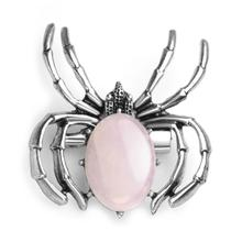 Spider Pendant Necklace Women's Healing Crystal Pendant Balance Chakra Stone Meditation Witchcraft Jewelry Jewelry