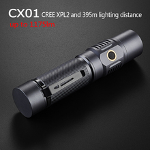 Led Glare Flashlight Outdoor Riding Fast Charge Emergency IPX7 Waterproof Torch,Spotlight Long-range Rechargeable Camping Lamp