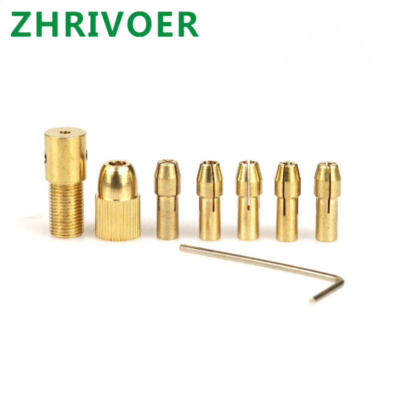 Micro Self Tightening Drill, Small Electric Drill Clamp, Drill Clamp, Hand Drill, Brass Drill Clamp, Various Specifications