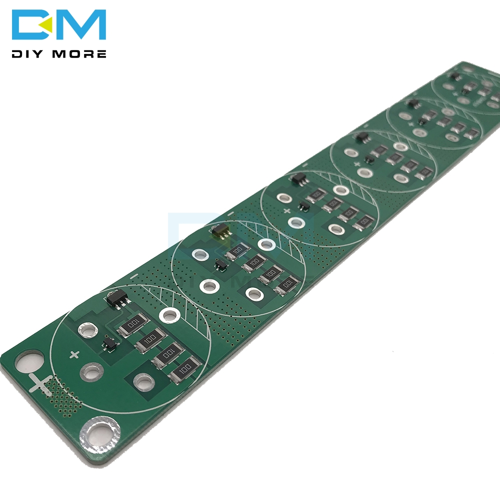 6PCS Single Row <font><b>Super</b></font> Farad <font><b>Capacitor</b></font> Balancing Protection Board 2.5V <font><b>2.7V</b></font> 3V 360F <font><b>400F</b></font> 500F 700F 4 Pin Protection Board image