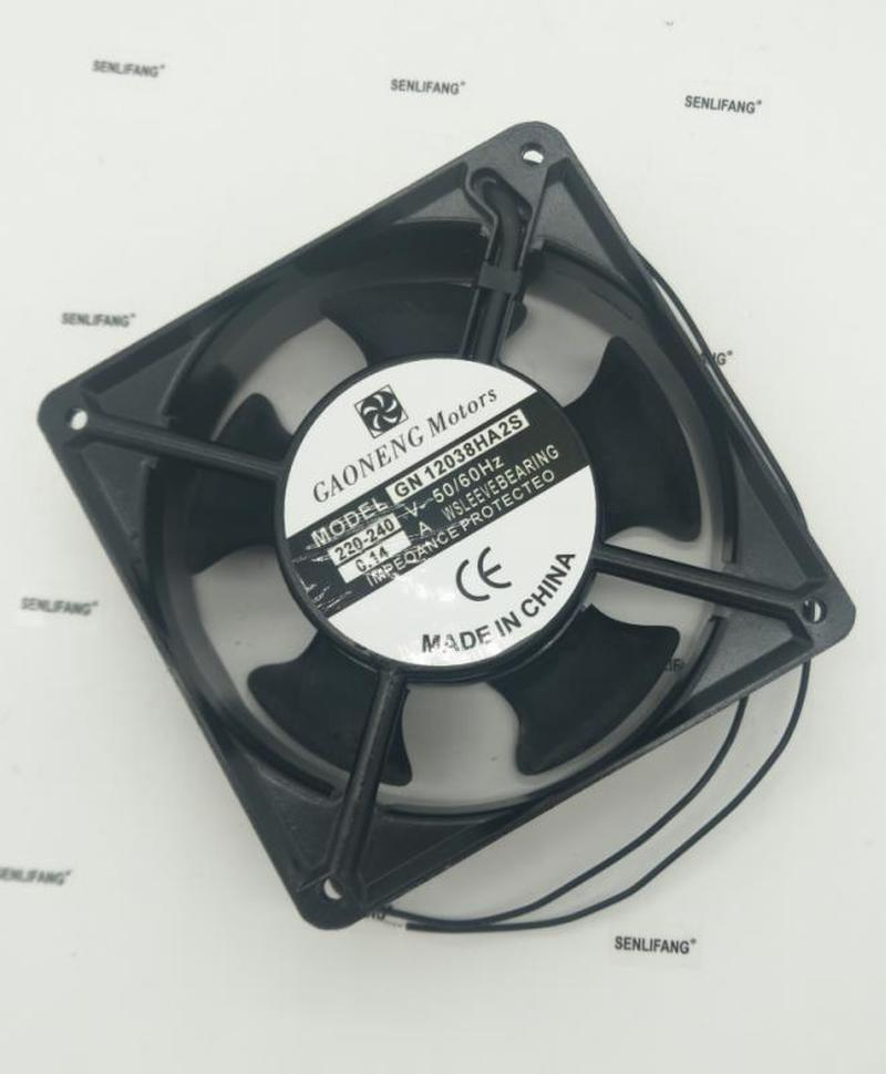 For GAONENG Motors GN12038HA2S 220V-240V 0.14A 12038 Cooling Fan