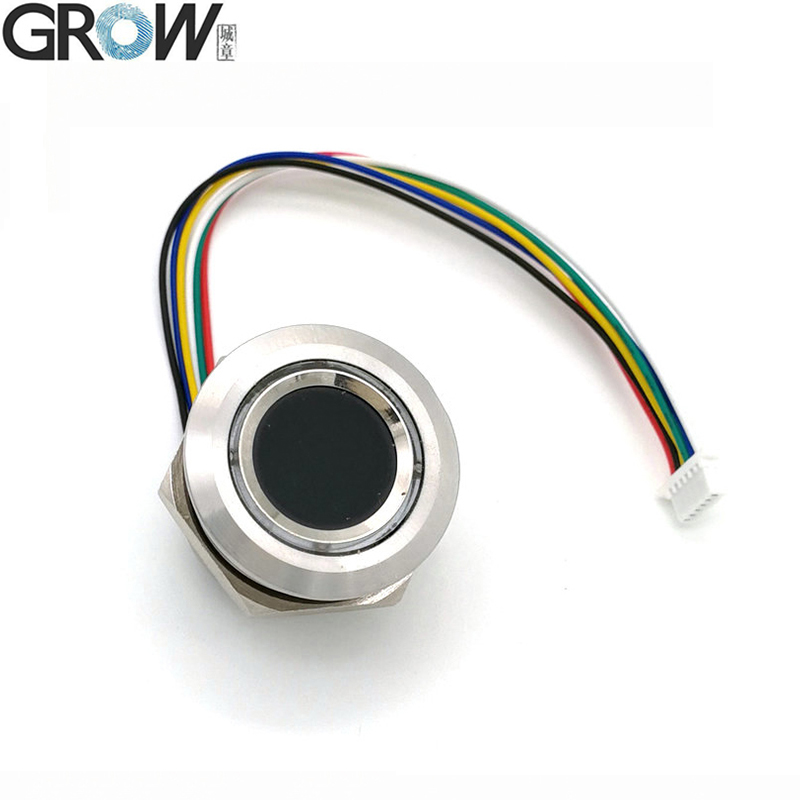 GROW R503 New Circular Round Two-Color Ring Indicator LED Control DC3.3V MX1.0-6pin Capacitive Fingerprint Module Sensor Scanner