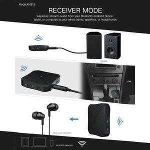 Image 5 - 2 في 1 بلوتوث 4.2 استقبال الارسال بلوتوث اللاسلكية محول الصوت مع 3.5 مللي متر AUX الصوت للمنزل TV MP3 PC