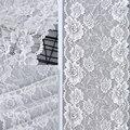 3 ярдов 20 см Ширина Белый Черный эластичная кружевная ткань DIY ремесла швейные украшения аксессуары для одежды эластичная кружевная отделка