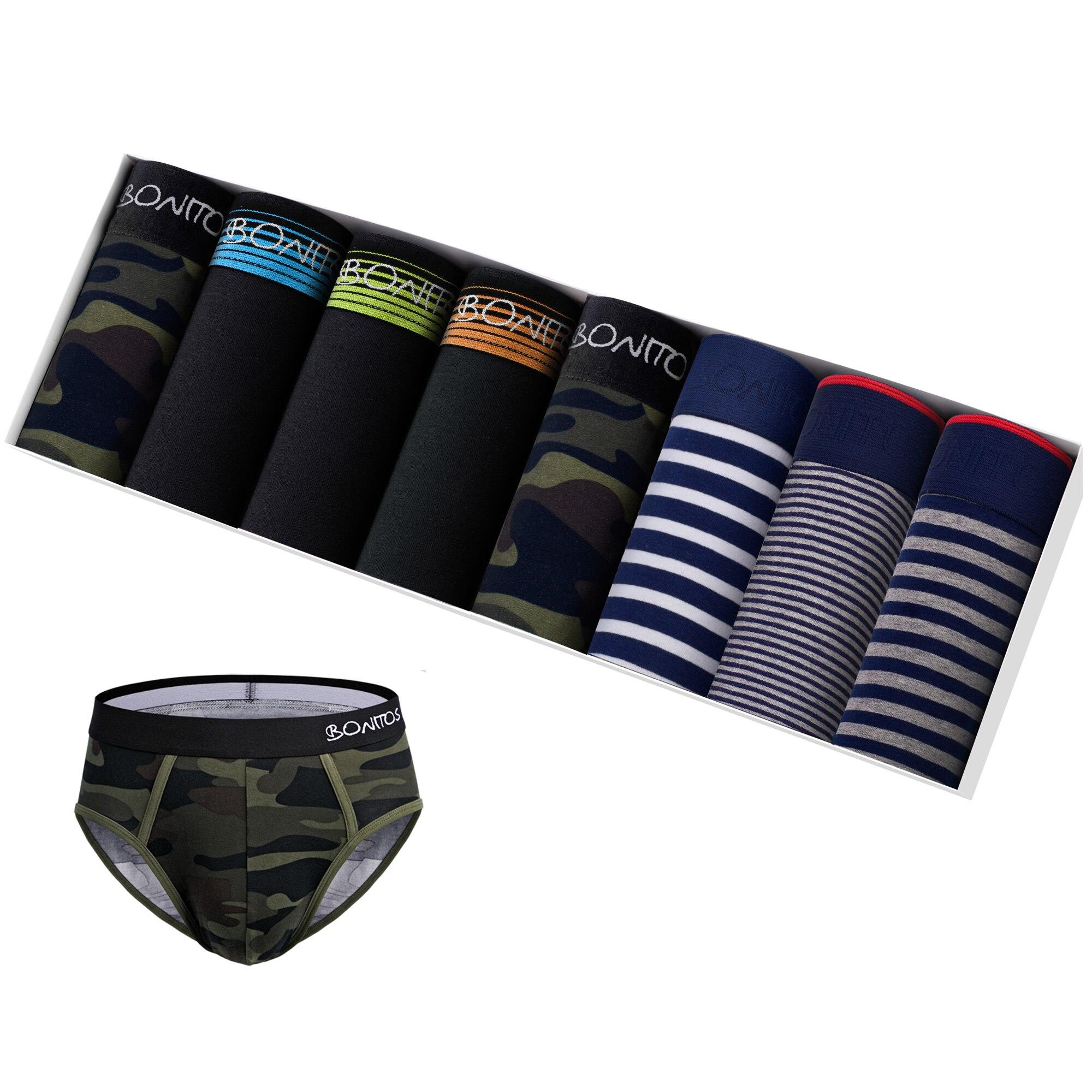 8 pçs conjunto de roupa interior cuecas masculinas tanga calcinha masculina shorts de alta qualidade bikini homme underware boxershorts calson deslizamento