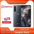100% Original OnePlus Nord 5G Handy 6,44 zoll 90Hz Flüssigkeit AMOLED Snapdragon 765G Octa Core 48MP Quad kameras