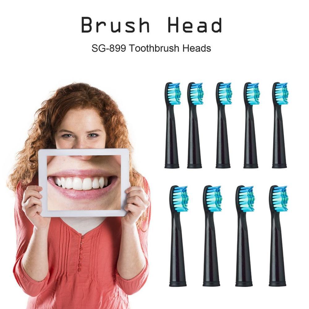 /4/5 pièces/ensemble têtes de brosse à dents électrique tête de brosse de remplacement pour SEAGO 949/507/610/659 brosse à dents électrique tête de brosse