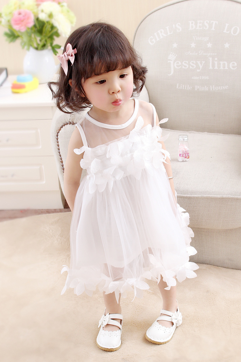 Ha6db41a28d27408d860e961e1bb5b0b5S Girls Dress 2018 Summer Explosion Solid Color Denim Dress Cartoon Polka Dot Bow Cartoon Bunny Satchel Korean Baby Cute Dress