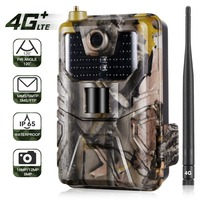 4G FTP MMS SMS Email 20MPTrail Camera Cellular Wildlife Hunting Cameras HC900LTE 1080P Mobile Wireless Wild Surveillance