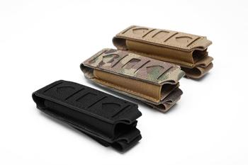 Military 9MM Tactical Molle Single Pistol Magazine Pouch Waist Belt Bag Flashlight Holster Airsoft Mag Pouches EDC Tool Holder 1