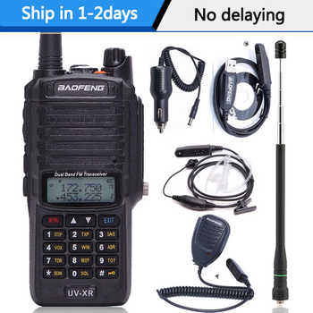 Baofeng UV-XR 10W High Power 4800Mah Battery IP67 WaterProof VHF UHF Dual Band Walkie Talkie Two Way Radio - DISCOUNT ITEM  28 OFF Cellphones & Telecommunications