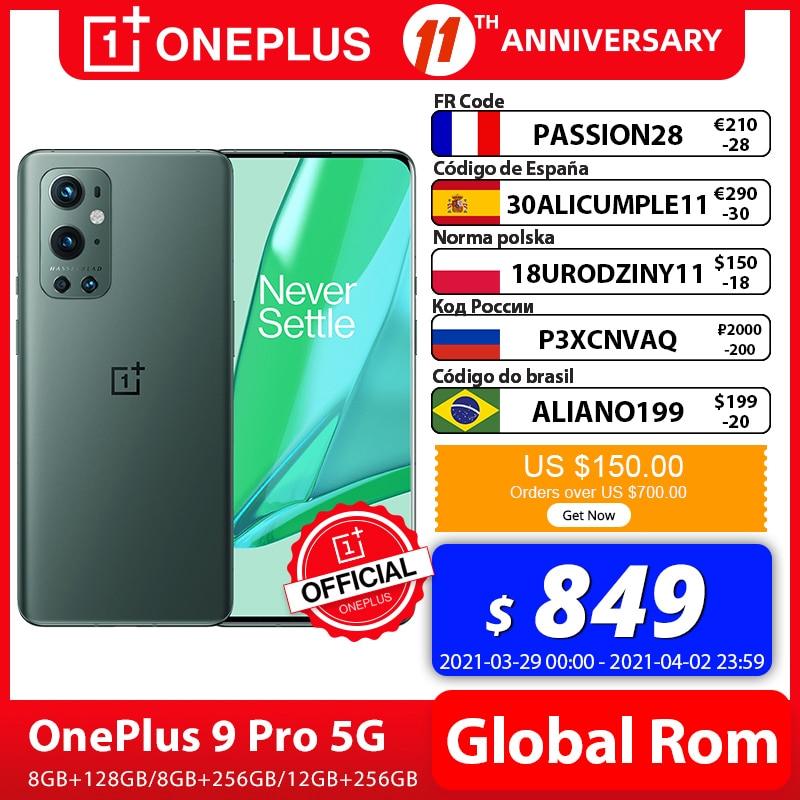 Smartphone OnePlus 9 Pro 5G 8GB 128GB Snapdragon 888 120Hz Display fluido 2 0 decalblad 50MP
