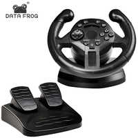 DATA FROG Racing Steering Wheel For PS3 Game Steering Wheel PC Vibration Joysticks Remote Controller Wheels Drive For PC