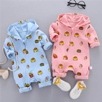 Nowa jesienna i zimowa nowa ciepła odzież z długimi rękawami dla noworodków jednoczęściowy romper dla niemowląt odzież sportowa dla niemowląt tanie i dobre opinie COTTON W wieku 0-6m 7-12m 13-24m 25-36m 3-6y 7-12y 12 + y CN (pochodzenie) Unisex Na co dzień O-neck Zestawy Otwórz Stitch