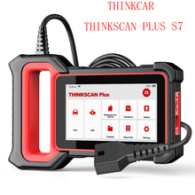 THINKCAR ThinkScan Plus S7 OBDII Car Automotive Diagnostic Tool ABS Airbag SRS TCM OBD OBD2 Scanner With 5 Reset Function