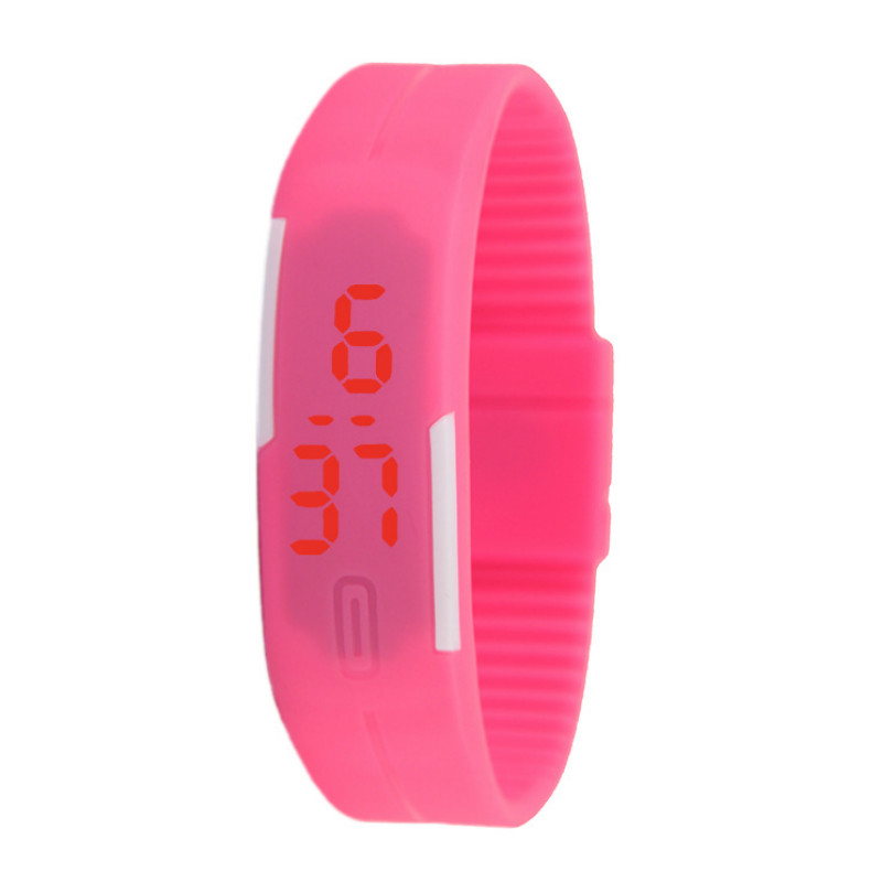 Watch With Thin LED Bracelet  Fashionable Touch  Children Watches  Electronic Student Kids Watches Gift