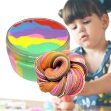 100ml Colorful Clay Toy Putty Soft Clay Light Plasticine Educational Toy Colorful Plasticine Polymer Creative DIY Clay Toy(China)