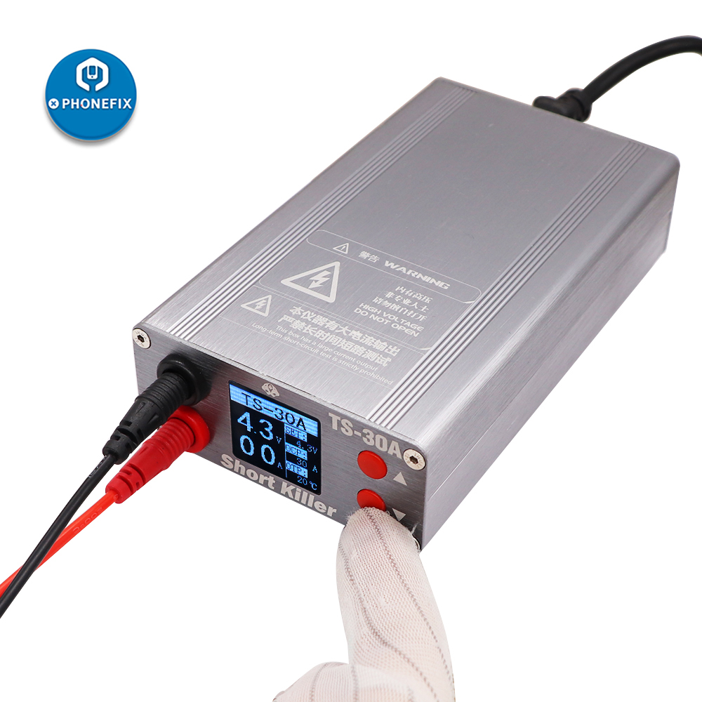 Short Killer TS-30A TS-20A PCB Short Circuit Repair Tool Box Motherboard Short Circuit Burning Repair Tools for iPhone Repair