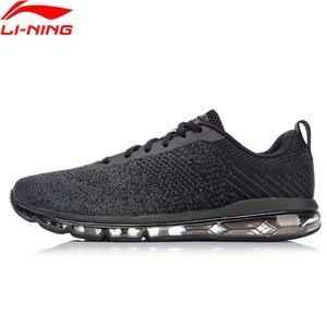 Image 4 - Li Ning 남자 버블 최대 클래식 라이프 스타일 신발 쿠션 스 니 커 즈 LiNing li ning 통기성 피트 니스 스포츠 신발 AGCN075 YXB134