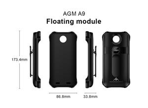 Image 4 - צף מודול עבור AGM A9 IP68 עמיד למים חדש שחייה חיצוני ספורט מחוספס נייד צף מודול קשה להגן עבור A9