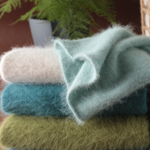 Image 5 - סתיו חורף נשים גולף סוודרים 100% טהור מינק קשמיר סוודרים סרוג רך חם ילדה בגדי S 2XL 13 צבעים מגשרים