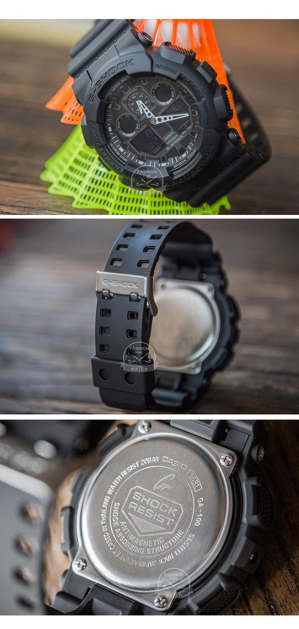 Casio-GA-100-Waterproof-watch-men-g-shock 5