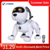 K16A Electronic Pets RC Animal Programable Robot Dog Voice Remote Control Toy Puppy Music Song for Kids Birthday Gift 1