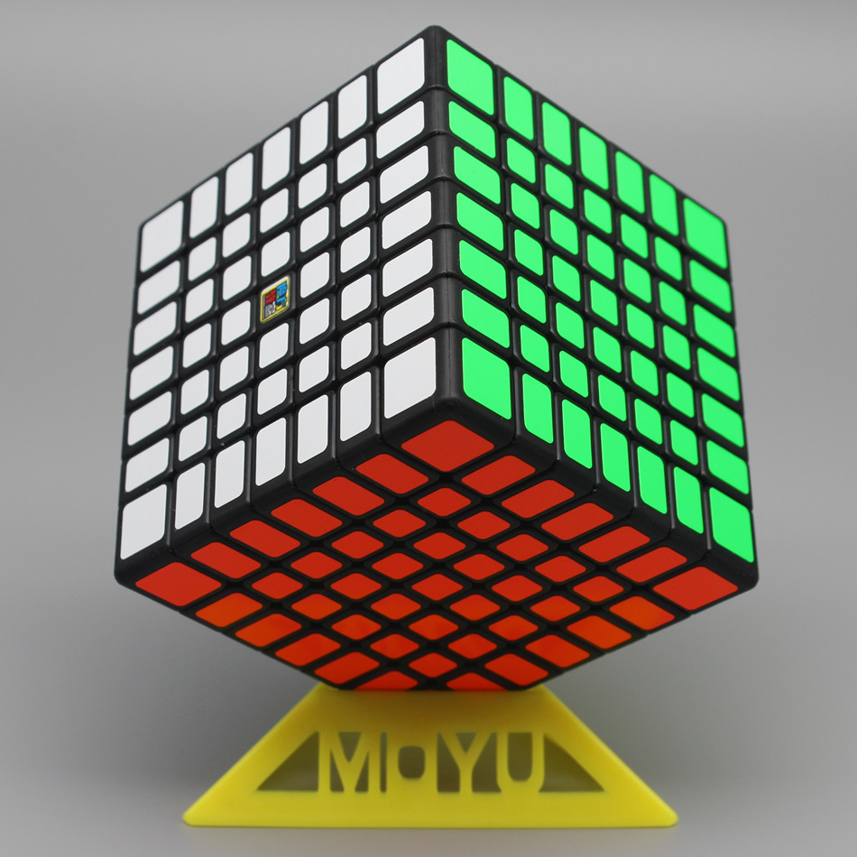 Moyu Meilong 7x7 Magic Cube 66mm Size Stickerless 7x7x7 Cubo Magico WCA Competition Learning&Educational Toys For Children Gift