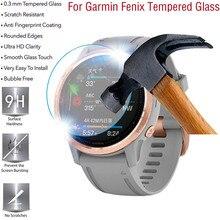 2/3/5 adet HD temperli cam koruyucu Film Garmin Fenix 6 6S 6X Pro 5 5S 5X izle ekran filmi Anti scratch anti parmak izi