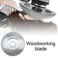 1PC Wood Grinding Wheel Angle Grinder Disc Wood Carving Disc Sanding Abrasive Tool Engraving Rotary Tool