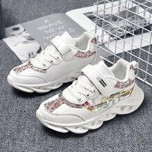 Moda crianças sapatos de menina respirável sapatos infantis tênis de fundo macio não deslizamento sapatos casuais da menina