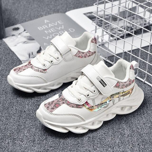 Mode Kinderen meisje Schoenen Ademend Baby Schoenen Sneakers Zachte Bodem antislip Casual meisje Schoenen