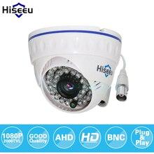 Hiseeu caméra de vidéosurveillance analogique AHDH 1080P, Mini dôme de sécurité, intérieur, Vision nocturne infrarouge, prise, jeu, livraison gratuite AHCR512