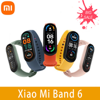 Xiaomi Mi Band 6 Smart Armband Drei-farben Passenden Plan 1.56