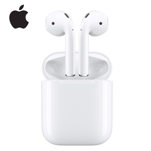Apple Airpods 1st Wireless Bluetooth Earphone Deeper Bass Tones Connect Siri with Charging Case for iPhone iPad Mac Apple Watch