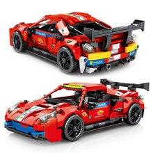 826 pces que compete blocos de construção modelo de carro esportivo 684 pces alta-tecnologia velocidade racer veículo puxar para trás tijolos conjunto brinquedos presentes para crianças
