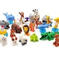 Оригинальный конструктор большого размера, сборные блоки, аксессуары, игрушки для детей, совместимые с большим размером, наборы животных, к...