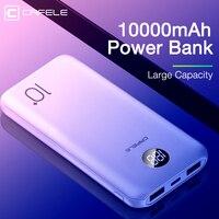 CAFELE 10000mAh Power bank Triple ausgang Tragbare Handy Ladegerät Externe Batterie Für huawei iPhone samsung xiaomi oneplus-in Powerbank aus Handys & Telekommunikation bei