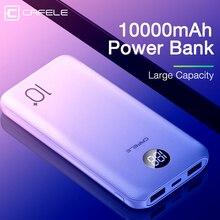 CAFELE 10000mAh Power bank Triple output Portable Mobile Pho